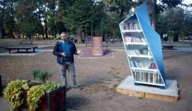 U Pančevu postavljena prva Biblioteka na otvorenom sa solarnim napajanjem